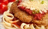 Porta Di Roma - Crumlin: Traditional Italian Meal with Appetizer and Entrees for Two or Four at Porta Di Roma (Up to 64% Off)