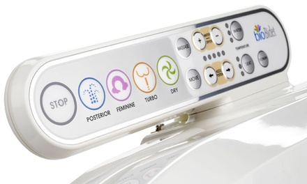 BioBidet BB800 Prestige Luxury Class Smart Seat With Side Control Panel