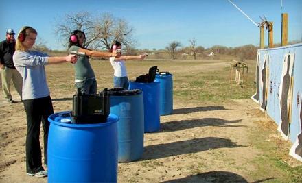 2-Hour Beginner Pistol Class for 2 - Texan Defender in Georgetown