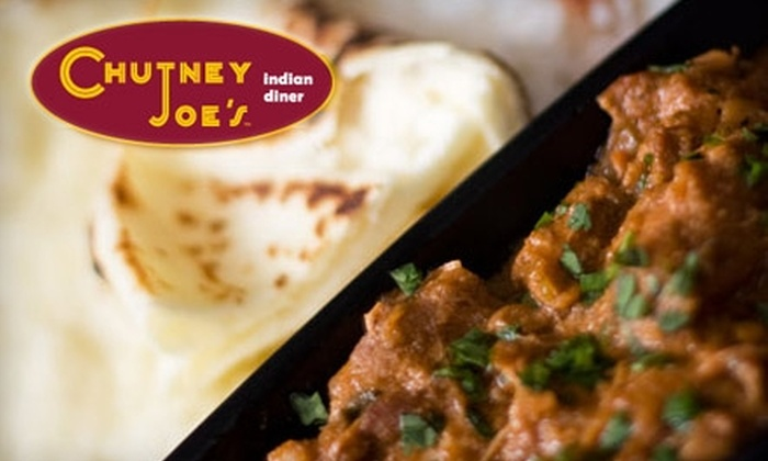 Chutney Joe's - South Loop: $5 for $10 Worth of Indian Fare at Chutney Joe's
