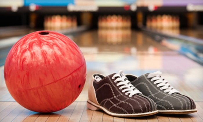 Classic Lanes or King Pin Bowl - Multiple Locations: $12 for Two Games of Bowling and Shoe Rental for Up to Five People from Community Entertainment Centers (Up to $44.70 Value)