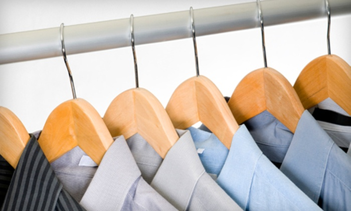 Kahuna Cleaners - Multiple Locations: $25 for Dry Cleaning for 12 Garments at Kahuna Cleaners (Up to a $51 Value)