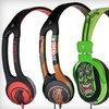 Up to 57% Off Skullcandy Headphones* Dynamic acoustic range * Several color patterns available * Contoured fit * Lengthy headphone cord
