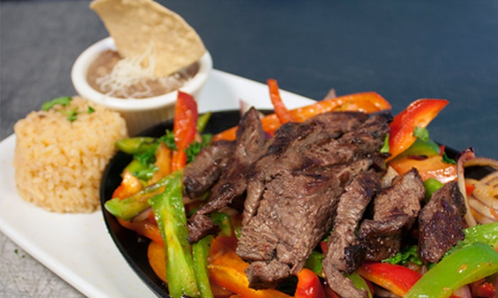 Tukan Grill - Temecula Regional Center: Fajitas and Drinks for Two or Four at Tukan Grill (Up to Half Off)