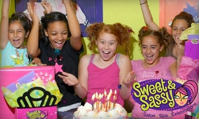 Sweet & Sassy - Polaris: $10 for a Glittery Glam Express Makeover at Sweet & Sassy