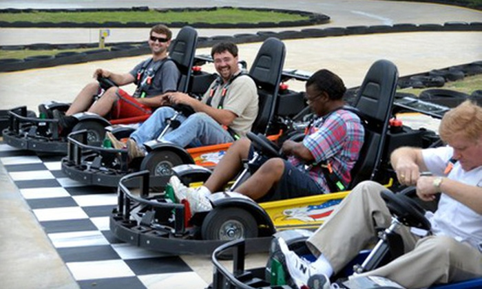 Hot Wheels Amusement Park - Rocky Mount: $12 for Unlimited Go-Kart and Bumper-Boat Access at Hot Wheels Amusement Park in Rocky Mount (Up to $32.50 Value)