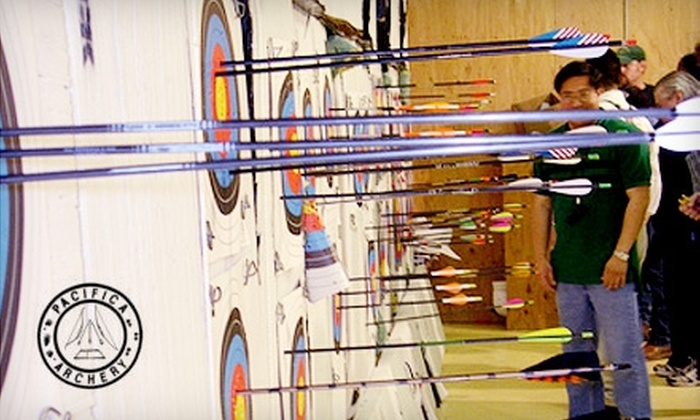 Pacifica Archery - Original Daly City: $35 for Instruction, Gear Rental, and Shooting Session for Two at Pacifica Archery ($70 Value)