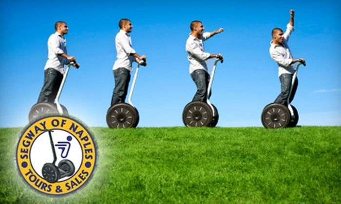 Segway Tours of Naples - Old Naples: $35 for a Two-Hour Tour from Segway Tours of Naples ($74 value)