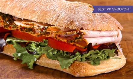 Two or 10 Boxed Lunches With Choice of Artisan Sandwiches at The Butcher's Market (Up to 40% Off)