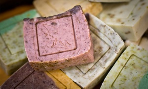 Soigne: Three-Hour Soap Making Class for One or Two with Four Take-Home Soap Bars and Balms at Soigne (Up to 41% Off)