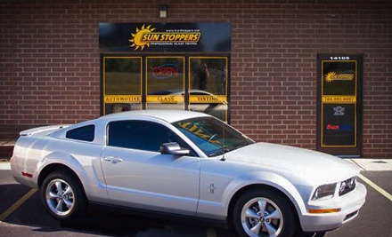 Infrared Window Tinting for Two Door Windows or a Two- or Four-Door Car at Sun Stoppers Window Tinting (Up to 67% Off)