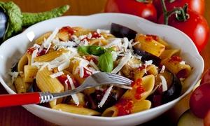 Osteria da Nerone: Menu vegetariano di 3 portate con calice o uno o 2 litri di vino da Osteria da Nerone (sconto fino a 69%)