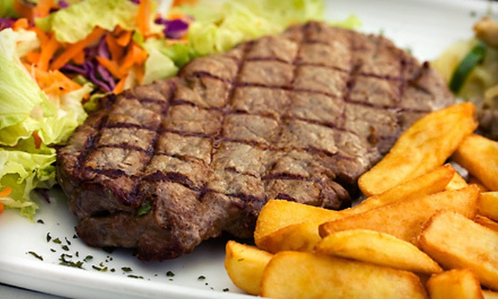 Charlie Brown's Family Sports Grill & Bar - Prairieville: Grill Fare and Drinks for Two or Up to Four at Charlie Brown's Family Sports Grill & Bar (Up to 52% Off)