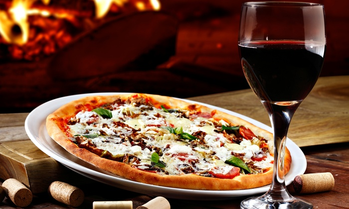 Diliberto Winery - Northfork: Premium Wine with Pizza for Two or Four at Diliberto Winery (Up to 46% Off)
