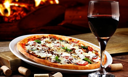 Premium Wine with Pizza for Two or Four at Diliberto Winery (Up to 46% Off)