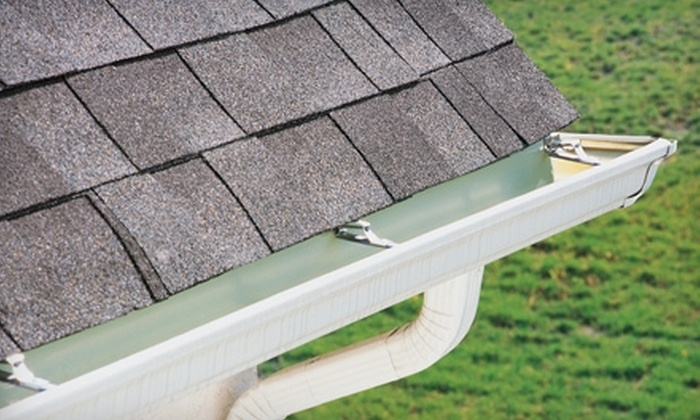 The Gutter Man - Houston: $85 for a Gutter, Downspout, and Roof-Debris Cleaning with Roof Inspection from The Gutter Man ($225 Value)
