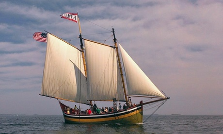 $21 for a Sailing Outing on the Schooner