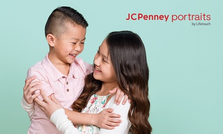 groupon.com - Photography Shoot Package with Optional 10″x20″ Canvas Print at JCPenney Portraits by Lifetouch (Up to 86%)
