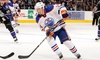 NHL Pre Season Edmonton Oilers vs. Minnesota Wild - SaskTel Centre: Edmonton Oilers Preseason Game at SaskTel Centre on Saturday, September 26, at 4 p.m. (Up to 26% Off)