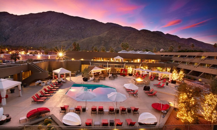 Hotel Zoso - Downtown Palm Springs: One- or Two-Night Stay with Beverage or Dining Credit at Hotel Zoso in Palm Springs, CA
