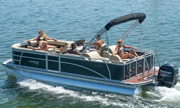 Bartlett Lake - Bartlett Lake: $235 for a Full-Day Pontoon Rental for Up to 10 Passengers from Bartlett Lake Marina ($400 Value)