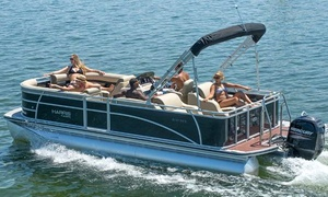 Bartlett Lake: $235 for a Full-Day Pontoon Rental for Up to 10 Passengers from Bartlett Lake Marina ($400 Value)