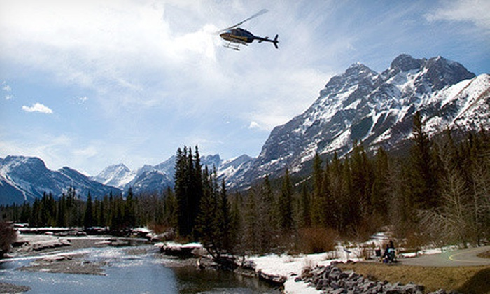 Kananaskis Heli Tours - Rockies Heli Canada: Helicopter Tour and Wilderness Stop for One, Two, or Four from Kananaskis Heli Tours (Up to 54% Off)