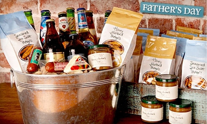"""""""My Heartstring"""" - Downtown Winter Haven: Father's Day Gift Basket at """"My Heartstring."""" Three Options Available."""
