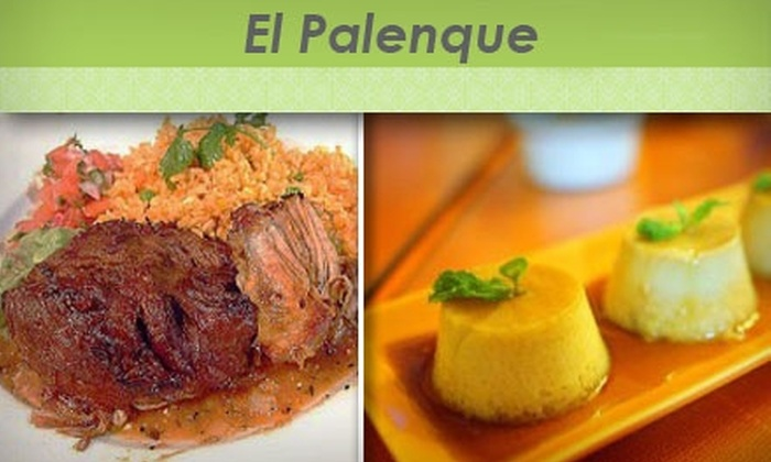 El Palenque - Sellwood - Moreland Improvement League: $10 for $25 Worth of Central American Dinner Fare at El Palenque (or $10 for $20 Worth of Lunch Fare)