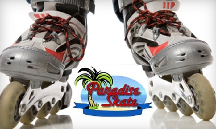 Paradise Skate - Antioch-Pittsburg: $4 for Admission and Roller-Skate Rental at Paradise Skate Roller Rink in Antioch (Up to $9 Value)