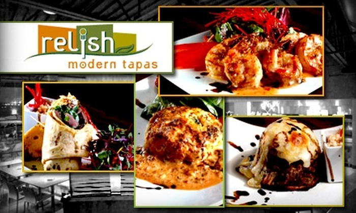 Relish Modern Tapas - Deerfield: $15 for $30 Worth of Spanish Fare and Drinks at Relish Modern Tapas