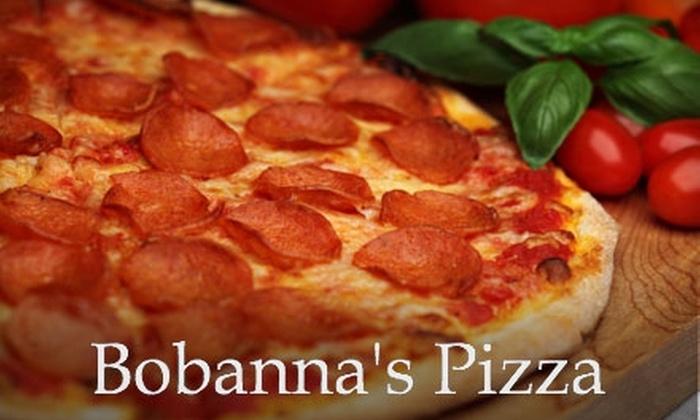 Bobanna's Pizzeria - Waukesha: $5 for $10 Worth of Pizza, Sandwiches, and More at Bobanna's Pizzeria