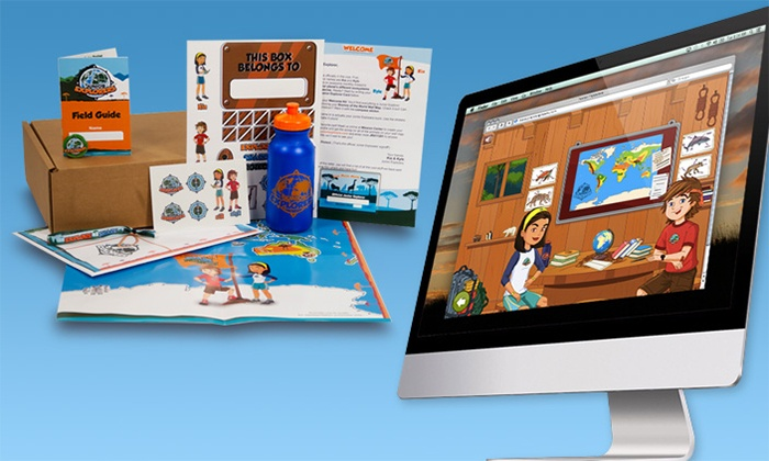 Junior Explorers: One- or Three-Month Subscription, Including Shipping, from Junior Explorers (Up to 52% Off)