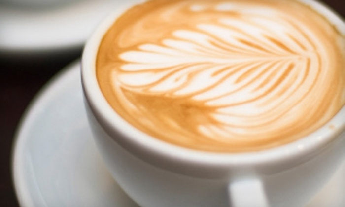 East Village Coffeehouse - East London: $5 for $10 Worth of Fair-Trade Coffee and Café Fare at East Village Coffeehouse