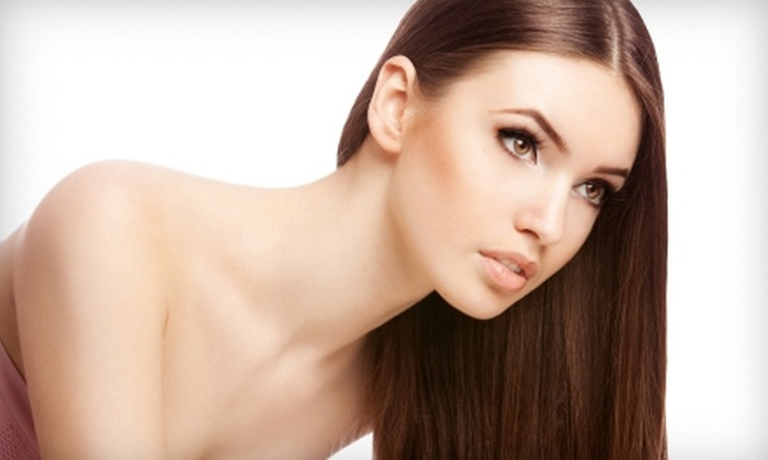 Morgan Perris Salon - Westmont: $49 for a Haircut and Kerastase Conditioning Treatment at Morgan Perris Salon ($100 Value)