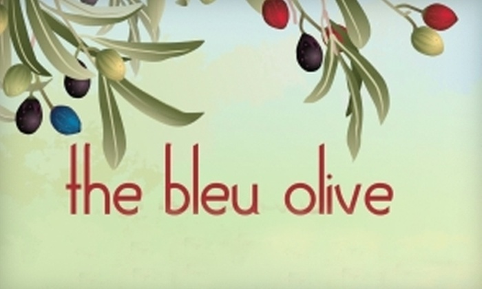 the bleu olive - Wheaton: $10 for $20 Worth of Oils, Vinegars, Spice Blends, and More at the bleu olive in Wheaton