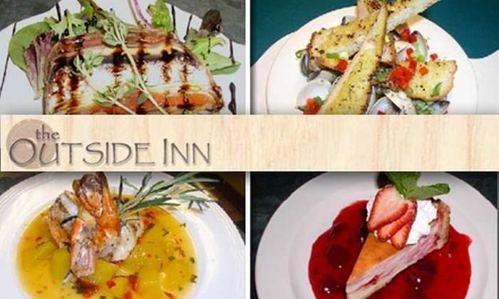The Outside Inn - Enterprise: $15 for $35 Worth of Beer and Pub Fare at The Outside Inn