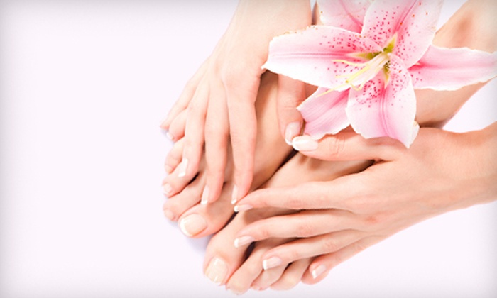 Heavenly Hands for Massage - Sugar House: $22 for an Express Mani-Pedi at Heavenly Hands for Massage ($45 Value)