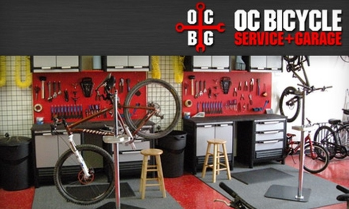 OC Bicycle Service & Garage - Laguna Hills: $25 for a Grunge Tune-Up and Free Patch Kit or Water Bottle at OC Bicycle Service & Garage ($66 Value)