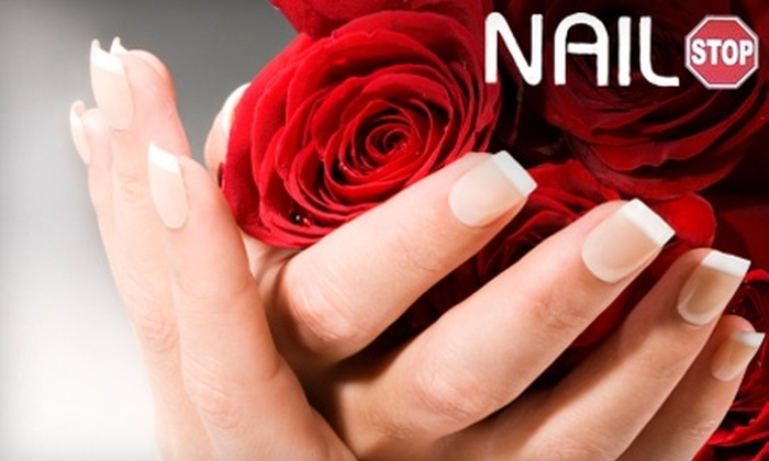 Nail Stop - Fort Wayne: $25 for a French-Tip Manicure at Nail Stop