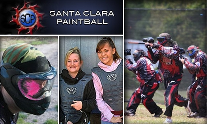 Santa Clara Paintball - South San Jose: $30 for All-Day Entry, Equipment, Limitless Air, and 250 Paintballs at Santa Clara Paintball