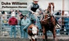 Duke Williams Performance Horses - East Central San Antonio: $20 for a One-Hour Private Rodeo Lesson from Duke Williams Performance Horses