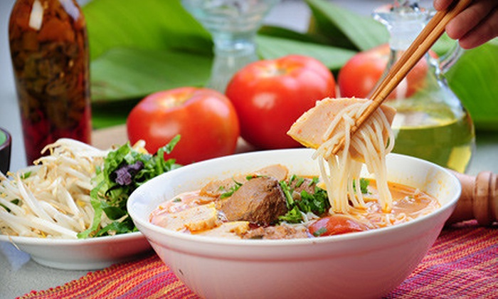 Pho Bar and Grill - Northeast Washington,Near Northeast: Vietnamese Cuisine and Drinks for Two or Four at Pho Bar and Grill (Up to 54% Off)