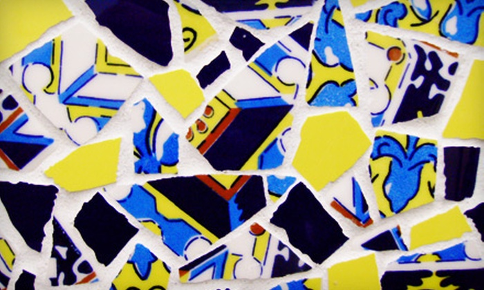 Tile One On Mosaics - Richmond: $55 for a Basic Mosaics Class from Tile One On Mosaics ($110 Value)