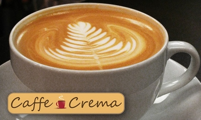 Caffe Crema - Bridlewood: $10 For Five Coffees, Teas, and Other Beverages at Caffe Crema