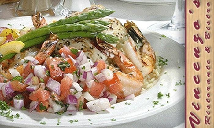 Vincenzo's Ristorante & Bistro - Downtown Ashville: $20 for $45 Worth of Italian Cuisine at Vincenzo's Ristorante & Bistro