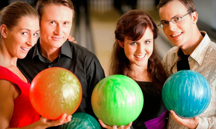 Wood Dale Bowl - Wood Dale: Bowling for Two People or Unlimited Bowling for 16 Weeks at Wood Dale Bowl (Up to 84% Off)