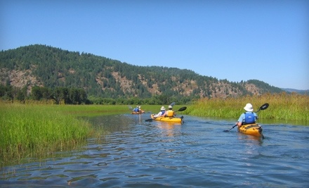 Harrison Idaho Water Adventures: 2 Kayaks for a 2-Hour Rental  - Harrison Idaho Water Adventures in Harrison