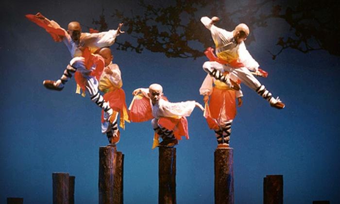 Shaolin Warriors - Mayo Performing Arts Center: $15 to See Shaolin Warriors at Mayo Performing Arts Center on Friday, November 30, at 7:30 p.m. (Up to $35 Value)