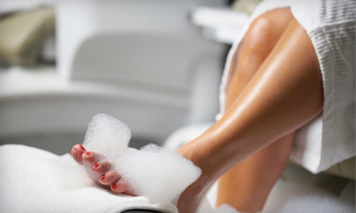 The Spa at Riverwood - Riverwood Athletic Club: Spa Manicure, Foot Facial, or Signature Mani-Pedi at The Spa at Riverwood in Clayton (Up to 55% Off)